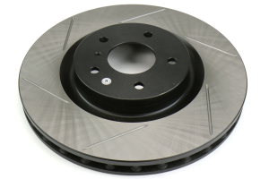 Stoptech Front Right Slotter Rotor w/OEM Brembo Brakes - Nissan 350Z / Infiniti G35 (w/OEM Brembo) 2003-2009