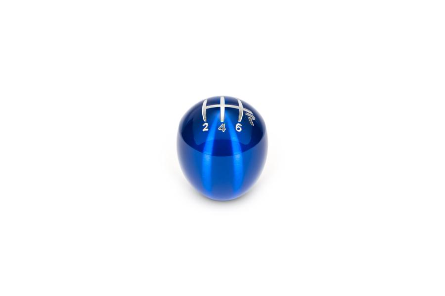 Raceseng Slammer Blue Translucent Shift Knob w/ Engraving - Honda Civic 6MT Models (inc. 2006+ Si / 2017+ Type R)
