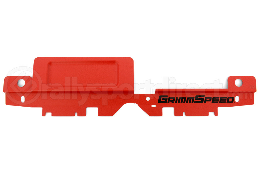 GrimmSpeed Radiator Shroud w/ Tool Tray Red ( Part Number:GRM 096032)