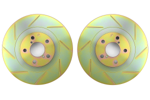 Brembo Sport Brake Rotor Pair Slotted Front ( Part Number: 33S60119)