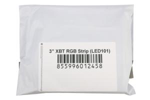 Morimoto 3in XBT RGB Semi-Flex LED Strip - Universal