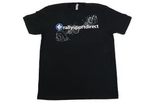RallySport Direct Turbo Diagram w/Logo Black Premium T-Shirt (Part Number: )
