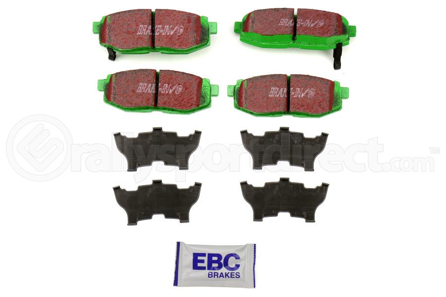 EBC Brakes Greenstuff Rear Brake Pads (Part Number:DP21758)