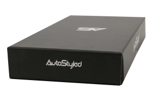 AutoStyled Black Leather Shift Boot w/ Red Stitching Short Shifter - Subaru WRX 2009-2014