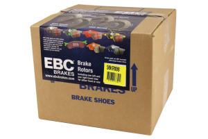 EBC Brakes S6 Rear Brake Kit Bluestuff Pads and 3GD Rotors - Mitsubishi Evo 8/9 2003-2006