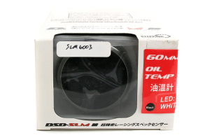 STRi DSD White 60mm Oil Temp Gauge (Part Number: )