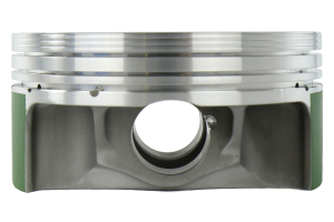 Cosworth Forged Pistons w/ Pins, Clips, and Rings 100mm Bore 8.2:1 (Part Number: )
