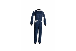 Sparco Sprint Racing Suit Navy / White - Universal