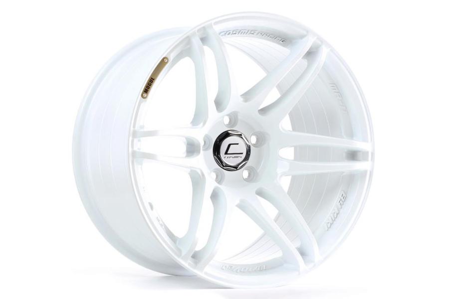 Cosmis Racing Wheels MRII 18x8.5 +22 5x114.3 White - Universal