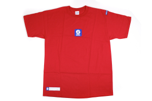Sparco Tach T-Shirt (Black / Grey / Red / White) - Universal