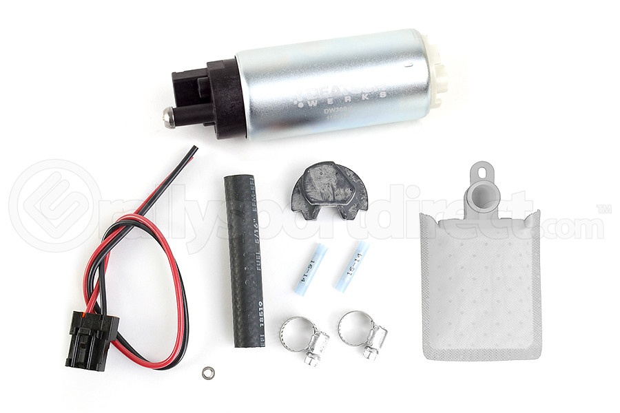 DeatschWerks DW300 Series Fuel Pump w/ Install Kit ( Part Number:DET 9-301-0766)