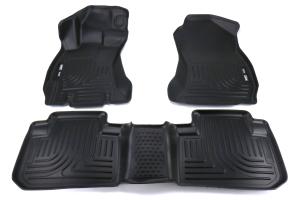 Husky Floor Liners Black - Subaru Forester 2014 - 2018