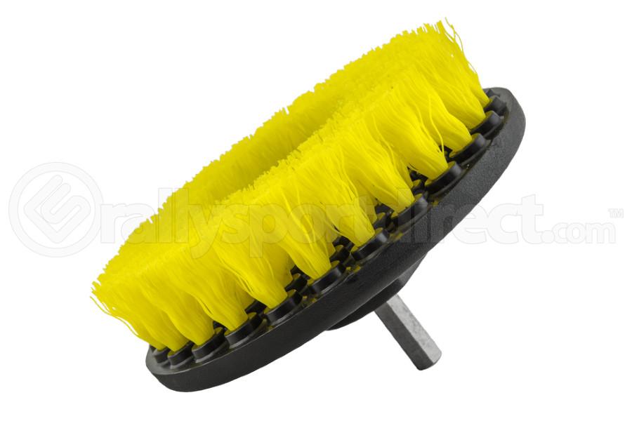 Chemical Guys Medium Duty Carpet Brush w/Drill Attachment Yellow - Universal