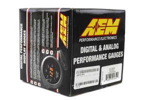 AEM Oil/Fuel Pressure Gauge Digital 52mm (Part Number: )