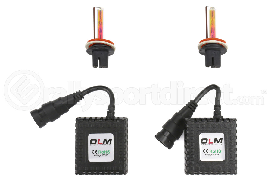 OLM Headlight Low Beam 35w HID Kit 3000K (Part Number:OLM-AIOH113000K)