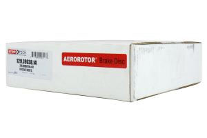Stoptech 2-Piece Slotted Aerorotor and Hat 320x25 Right (Part Number: )