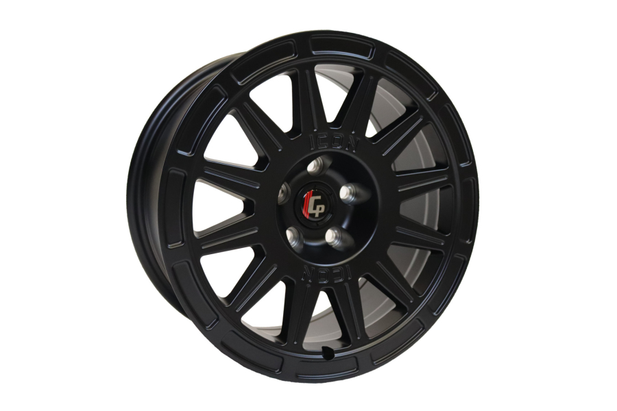 Crawford CrawfordSPEC Wheel by ICON Alloys 15x7 +15 5x100 Satin Black - Universal