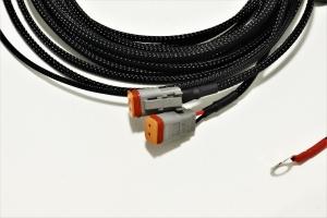 Crawford Hood Light Wire Harness - Subaru Models (inc. Crosstrek 2018+ / Impreza 2017+)