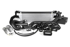 PERRIN Front Mount Intercooler Kit Black Piping/Silver Core - Subaru STI 2015+