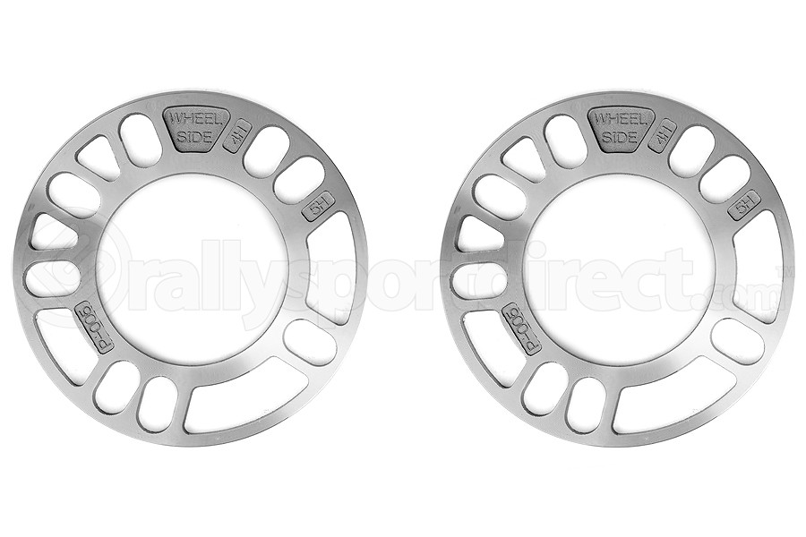 KICS Wheel Spacers 5mm Twin Pack Universal (Part Number:W005UP)