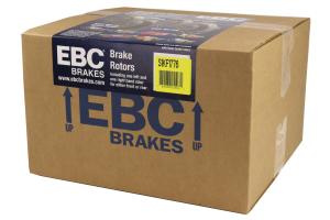 EBC Brakes S1 Front Brake Kit Ultimax2 Pads and RK Rotors - Subaru STI 2005-2017