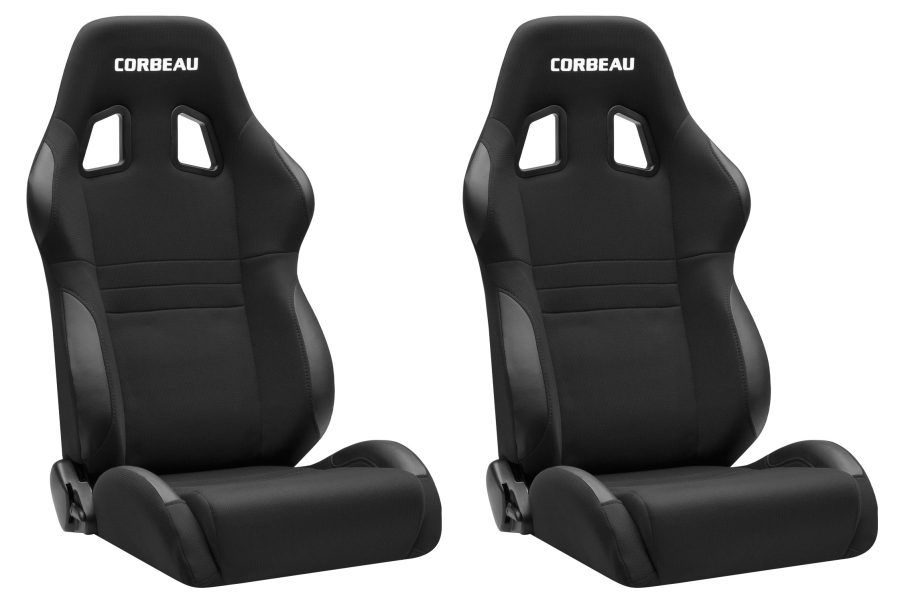Corbeau A4 Reclining Seats Pair (Part Number:A4-SEAT)