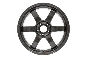 Volk TE37SL 18x9.5 +40 5x114.3 Diamond Black - Universal