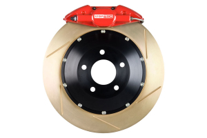 Stoptech ST-22 Big Brake Kit Rear 345mm Red Zinc Slotted Rotors (Part Number: )