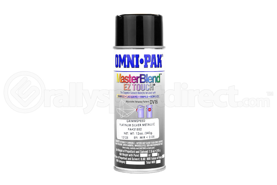 GrimmSpeed Touch Up Paint Platinum Silver ( Part Number:GRM 054004)