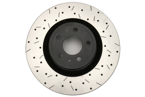 DBA 4000 Series Drilled and Slotted Rotor Pair Front (Part Number: )