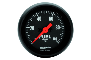 Autometer Z-Series Fuel Pressure Gauge Electrical 52mm - Universal