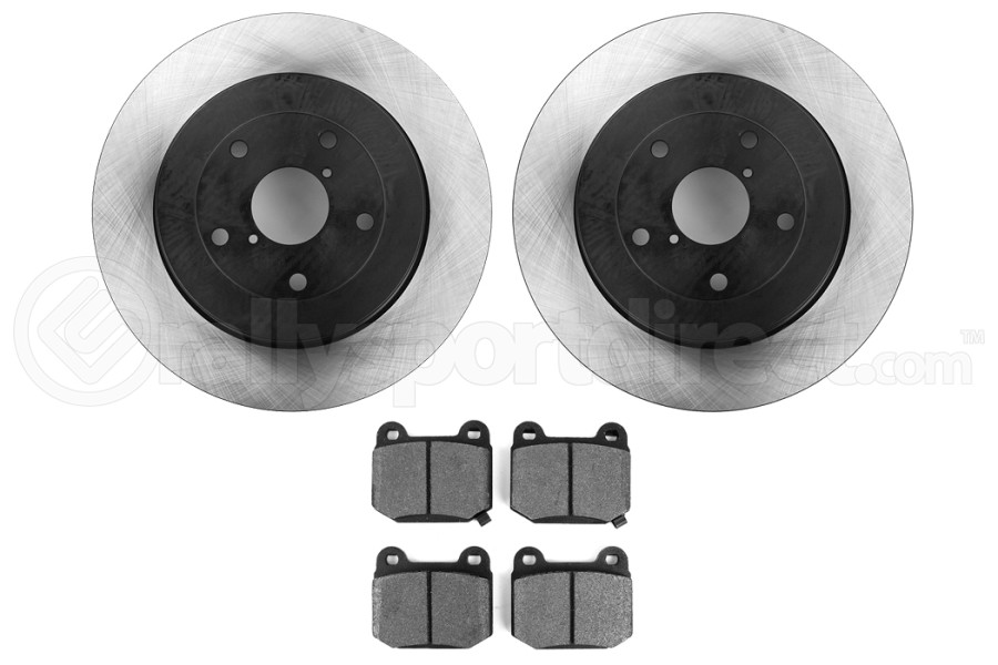Stoptech Preferred Axle Pack Rear (Part Number:909.47509)