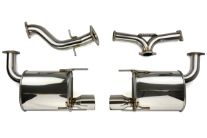 Invidia Q300 Axle Back Exhaust (Part Number: )