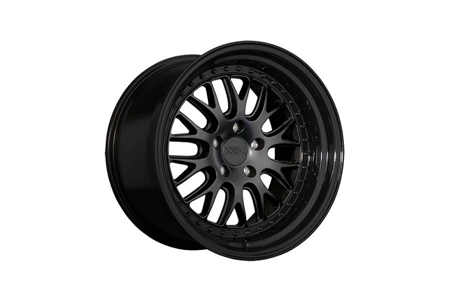XXR 570 5x114.3 Flat Black / Gloss Black Lip - Universal