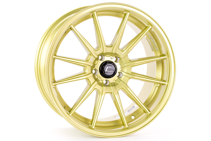 Cosmis Racing Wheels R1 Pro 18x10.5 +32 5x114.3 Gold - Universal