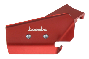 Boomba Racing Brake Cooling Deflectors Red - Ford Focus ST 2013+