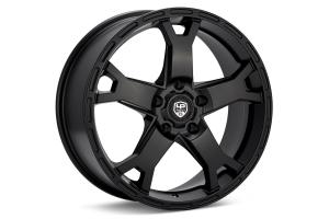 LP Aventure LP2 Wheel 17X8 +20 5x114.3 Black - Universal
