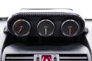 OLM Carbon Fiber OLM S-line Triple Gauge Pod - Subaru WRX / STI 2015 - 2020