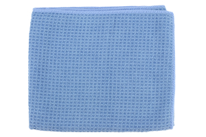 Chemical Guys Glass And Window Waffle Weave Streak Free Towel Blue - Universal