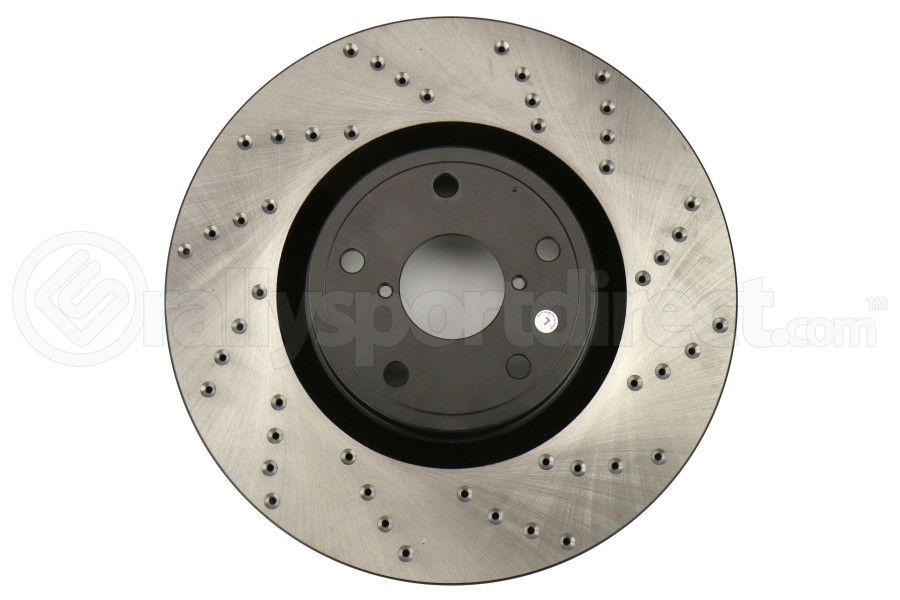Stoptech Drilled Rotor Single Front Left (Part Number:128.47022L)