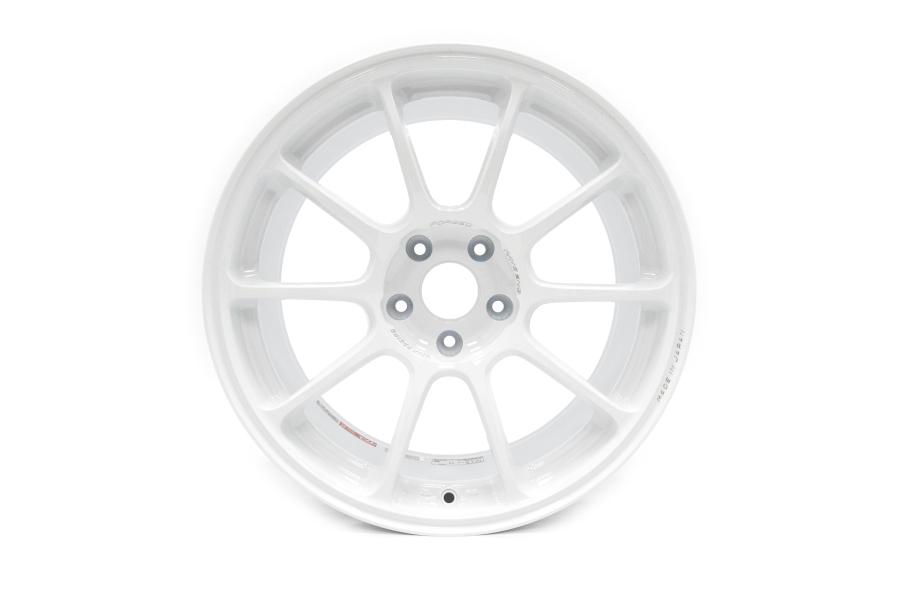 Volk Racing ZE40 18x9.5 +43 5x100 Dash White - Universal
