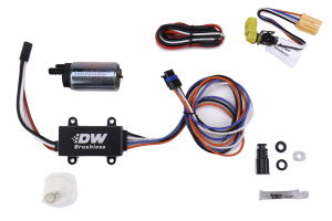 DeatschWerks 440lph In Tank Brushless Fuel Pump w/ Single/Dual Speed Controller w/ 9-0910 install kit  - Subaru Models (inc. 2008-2014 WRX / 2008-2020 STI)