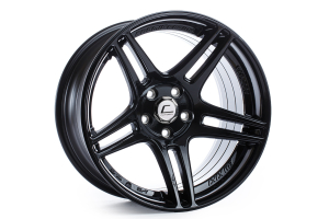 Cosmis Racing Wheels S5R 17x9 +22 5x114 Black - Universal