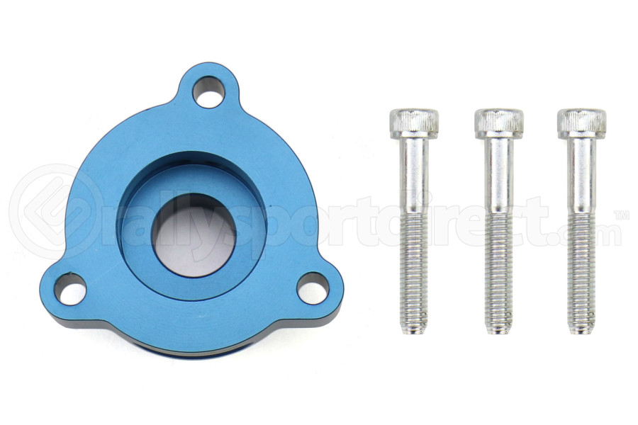 Boomba Racing Blow Off Valve Adapter Blue - Ford Fiesta ST 2014+ / Mustang Ecoboost 2015+