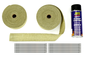 Thermo Tec Exhaust Wrap Kit 2in Regular ( Part Number:THE 19202)