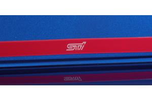 STI Trunk Lid Garnish Cherry Red - Subaru WRX / STI 2015 - 2020