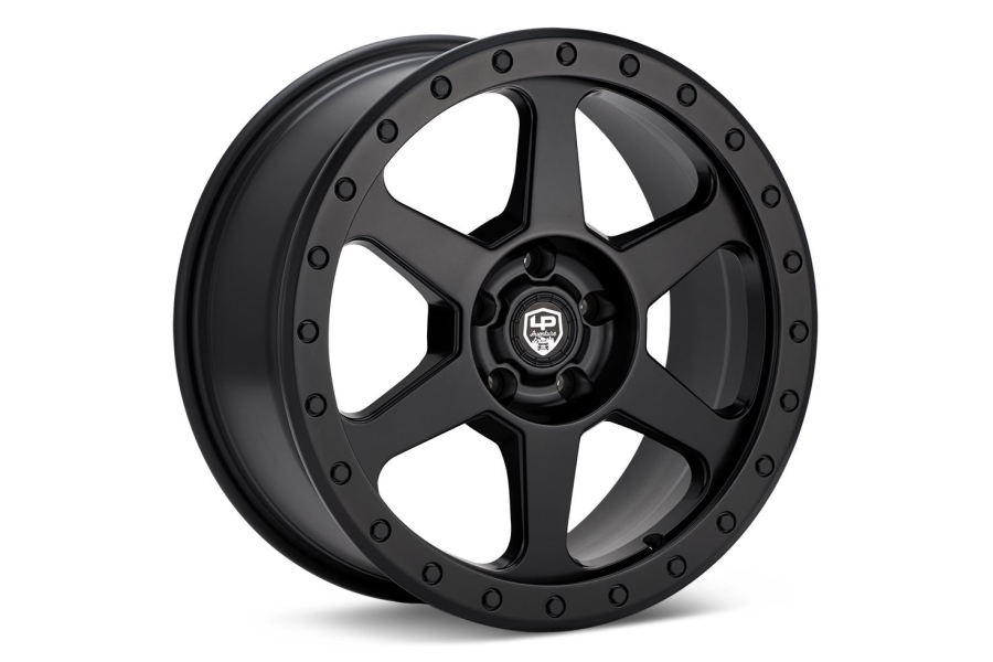 LP Aventure LP3 Wheel 18X8 +45 5x114.3 Matte Black - Universal