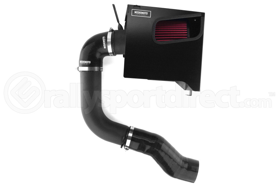 Mishimoto Cold Air Intake Wrinkle Black w/ Air Box - Subaru WRX 2015+