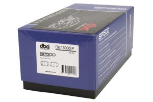 DBA SP500 Rear Brake Pads - Subaru Models (inc. 2008+ WRX / 2013+ BRZ)
