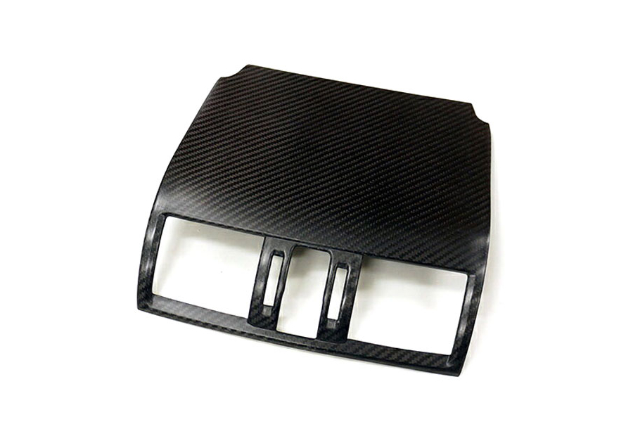 Revel GT Dry Carbon Front A/C Cover - Subaru WRX / STI 2015